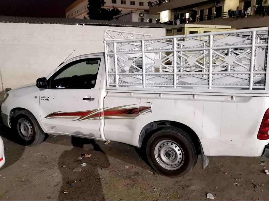 2 Ton Pickup For Rent In Dubai